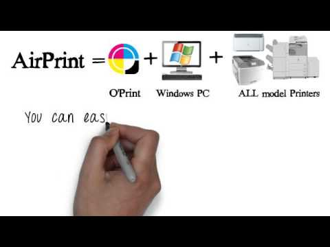 Print from iPad and iPhone for Any Printer