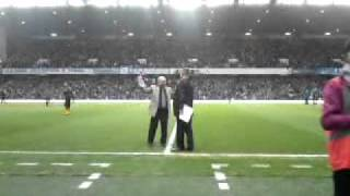 Rangers fans sing Penny Arcade with Sammy King
