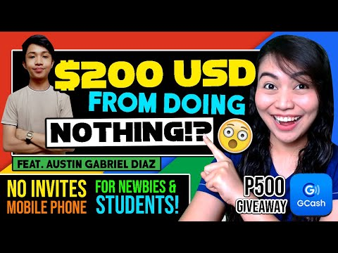 He EARNED $200 [P10K] FREE By DOING NOTHING: Can Use PHONE! NO REQUIREMENTS | JOIN: P500 GIVEAWAY!