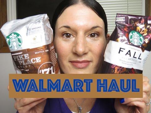WALMART HAUL   Coffee & More   November 2015