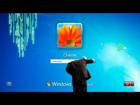 Cómo quitar la Contraseña de Windows 7 ✔