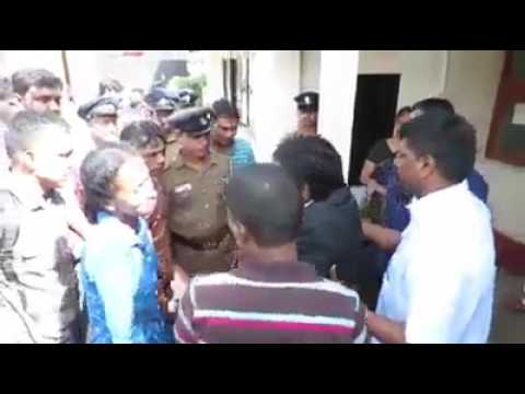 Sri Lankan Tamil Judge weeps hysterically over for  Sinhalese  Body Guard who saved his life