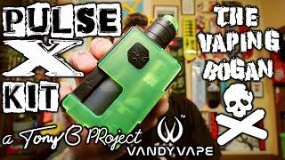 Pulse X Kit | Tony B Project X Vandy Vape | Full Rundown | The Vaping Bogan