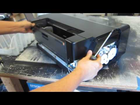 Epson P600 - How to build DIY DTG Flatbed Printer with Arduino - Video 1