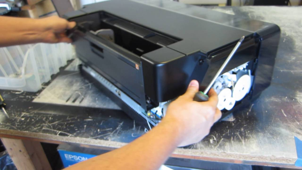 How to build DIY DTG Flatbed Printer