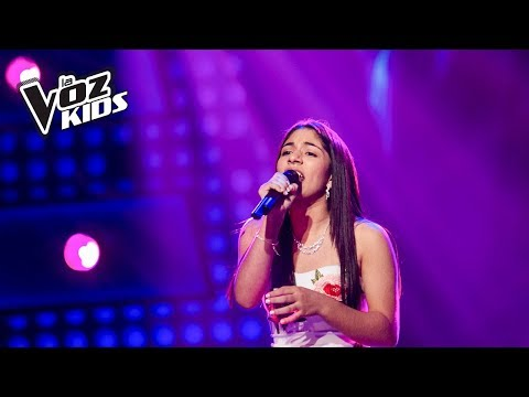 Jazz canta Así Fue Mi Querer - Audiciones a ciegas | La Voz Kids Colombia 2018