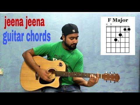 jeena jeena guitar chords