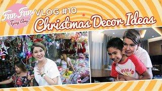 [Fun Fun Tyang Amy] Vlog 10 : Christmas Decor Ideas
