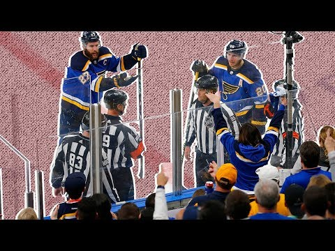 NHL's officiating disaster in Sharks-Blues game proves league needs to revamp rules