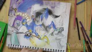 How to Draw Sly Cooper