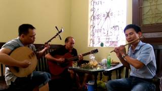 Live stream || BÈO DẠT MÂY TRÔI ( đàn nguyệt + guitar + sáo trúc)