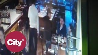 En video quedó registrado un robo en el restaurante la Bifería, en Bogotá | CityTV