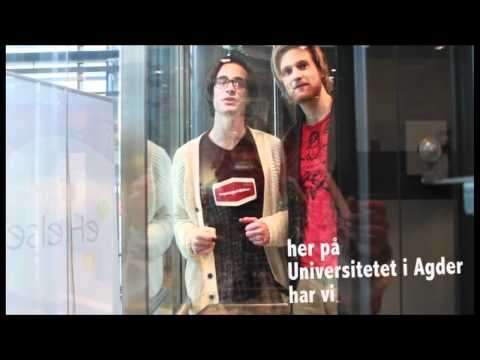 Universitetet i Agder (UiA) - Campus Grimstad - Viggo og Mathias