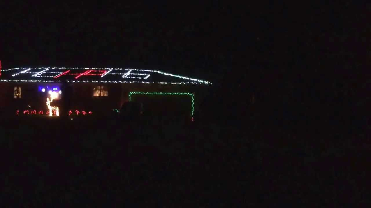 Christmas Lights In Chillicothe Ohio Youtube