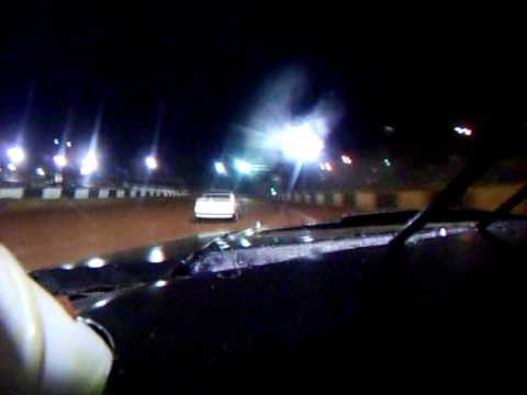 Green Valley Speedway stampede class hot laps 4-16-10