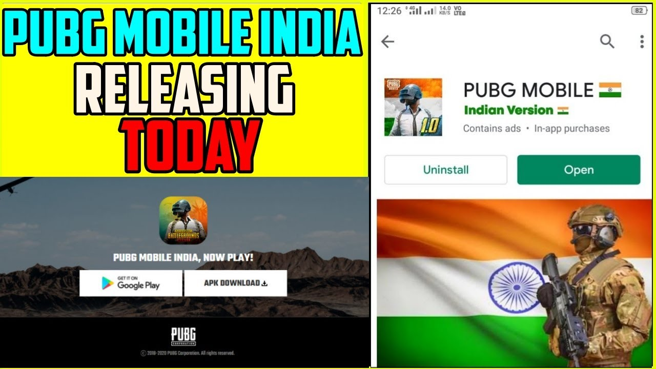PUBG INDIA RELEASING TODAY | PUBG MOBILE INDIA LIVE | RELEASE TIMING