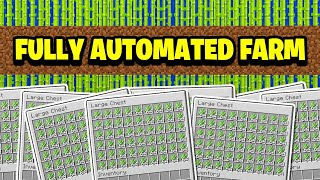 $$ HUGE Automated SUGAR CANE Farm $$ (Minecraft Factions)
