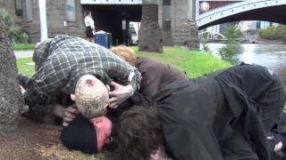 Repeat youtube video Zombie Attack April Fools Prank 2013