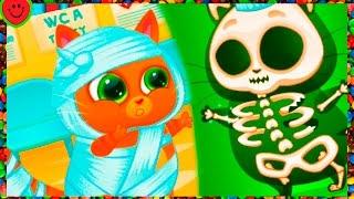 Мультик Игра Котик Буббу Мой Виртуальный Котенок Bubbu игровой мультфильм учим детей Virtual Pet