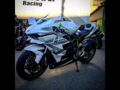 Custom Paint Kawasaki Ninja H2R