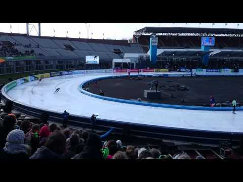 Koen Verweij in Olympisch Stadion Amsterdam