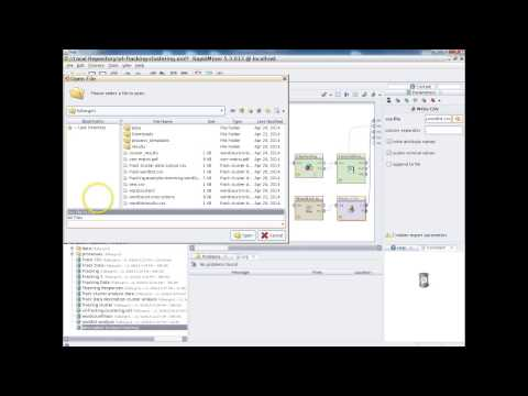 Tutorial K-Means Cluster Analysis in RapidMiner