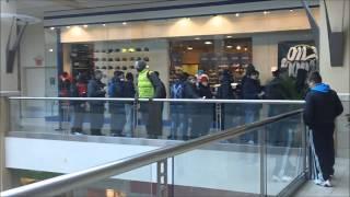 Air Jordan 13 He Got Game Release @ Queens Center Mall - (Vlog #40)