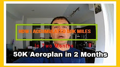 Here Is How I Accumulated 50K Aeroplan Miles in 2 Months   Travel Hacks