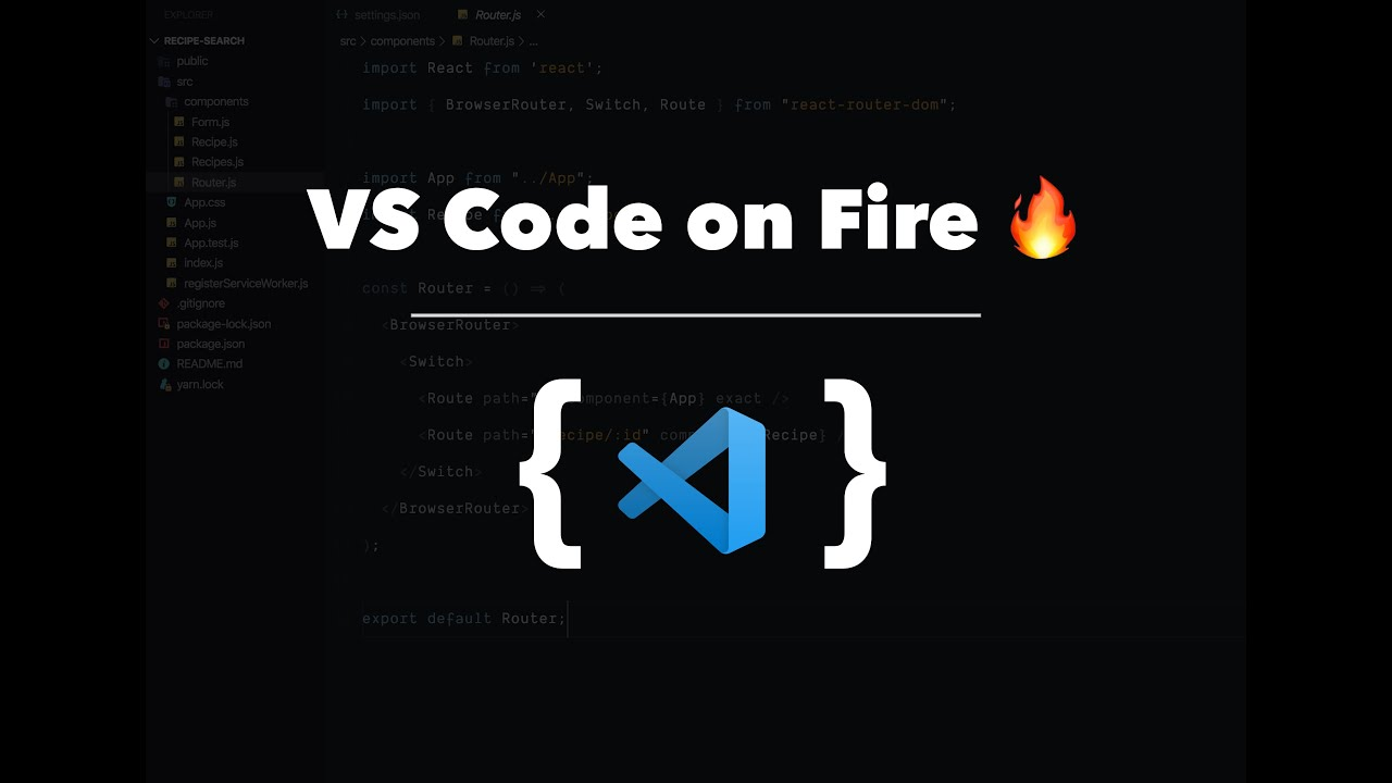 My Visual Studio Code Workflow | Best VS Code Themes and Extensions