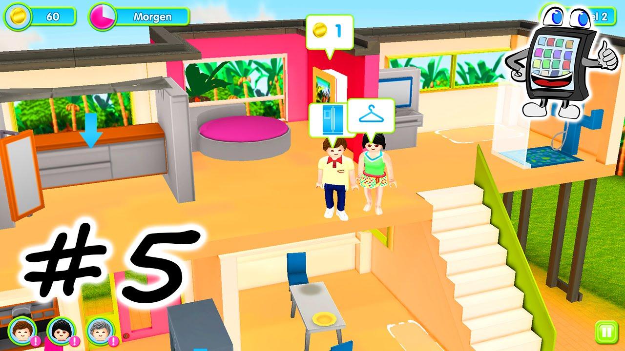 PLAYMOBIL MODERNE LUXUSVILLA #5 App für Android & iOS - Wir müssen ...