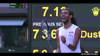 The day Dustin Brown Humiliated Nadal