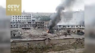 بالفيديو.. مقتل 7 أشخاص وإصابة 94 آخرين في انفجار وسط الصين