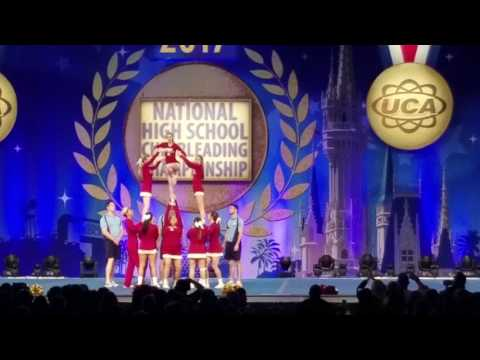 2017 UCA NATIONALS TULARE UNION HIGH SCHOOL TRIBE CHEER
