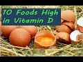 10 Foods High in Vitamin D