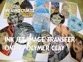 Ink Jet Image Transfer to Polymer Clay Tutorial