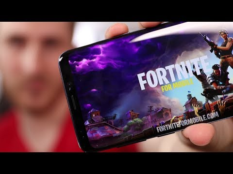 Downloading A FAKE Copy Of Fortnite For Android / Galaxy S9 | What Happens?