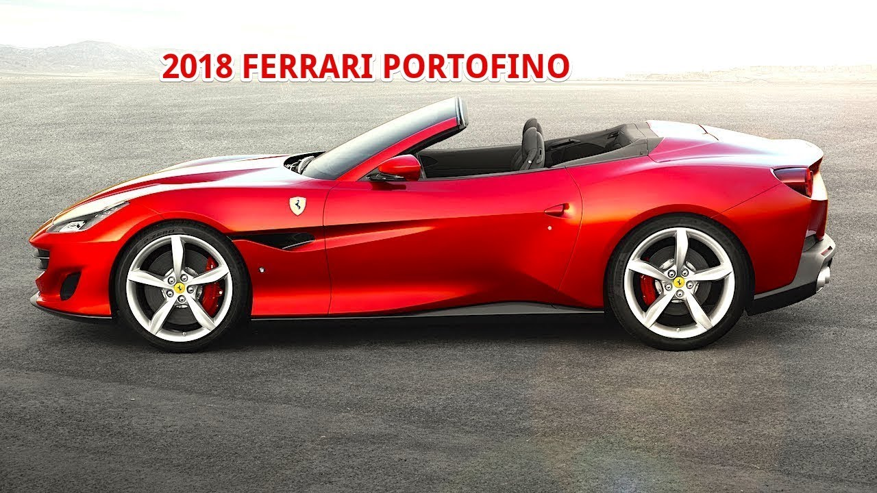 NOW 2018 FERRARI PORTOFINO PRICE