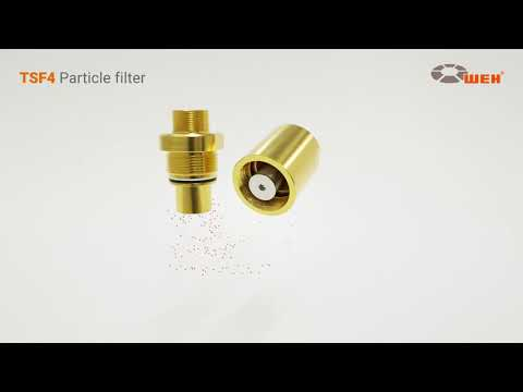 TSF4 Gas filter - function & maintenance of the particle filter
