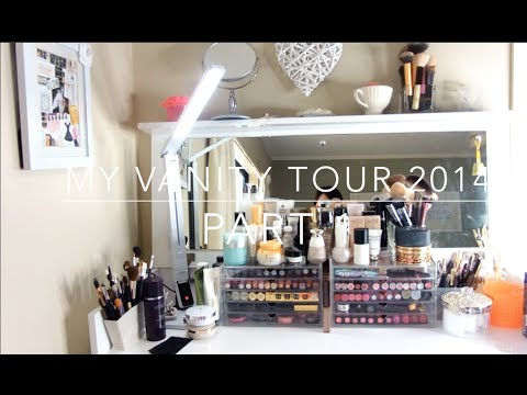 我的化妝台 Vanity Tour 2014  Part 1 HiBarbie