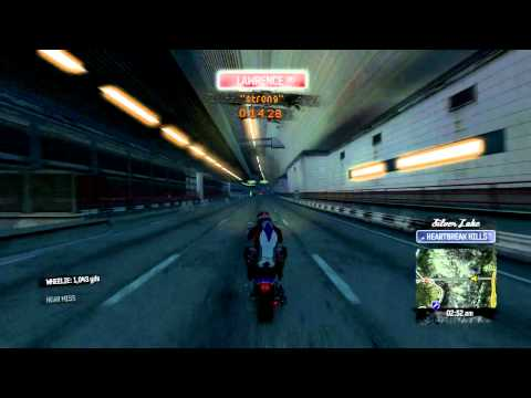 Burnout Paradise: 1777yd Wheelie
