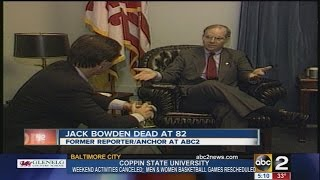 Former WMAR anchor/reporter Jack Bowden dead at 82