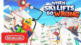 When Ski Lifts Go Wrong - Launch Trailer - Nintendo Switch