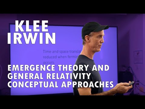 Emergence Theory and General Relativity: Conceptual Approaches by klee Irwin