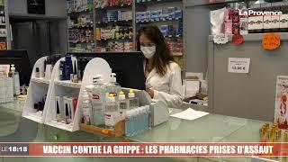Le 18:18 - Vaccin contre la grippe : les pharmacies marseillaises prises d'assaut