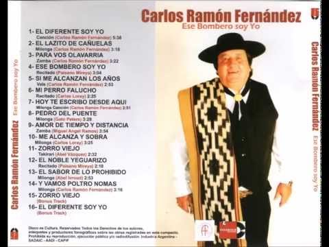 Carlos Ramon Fernandez - Ese bombero soy yo CD COMPLETO 2015