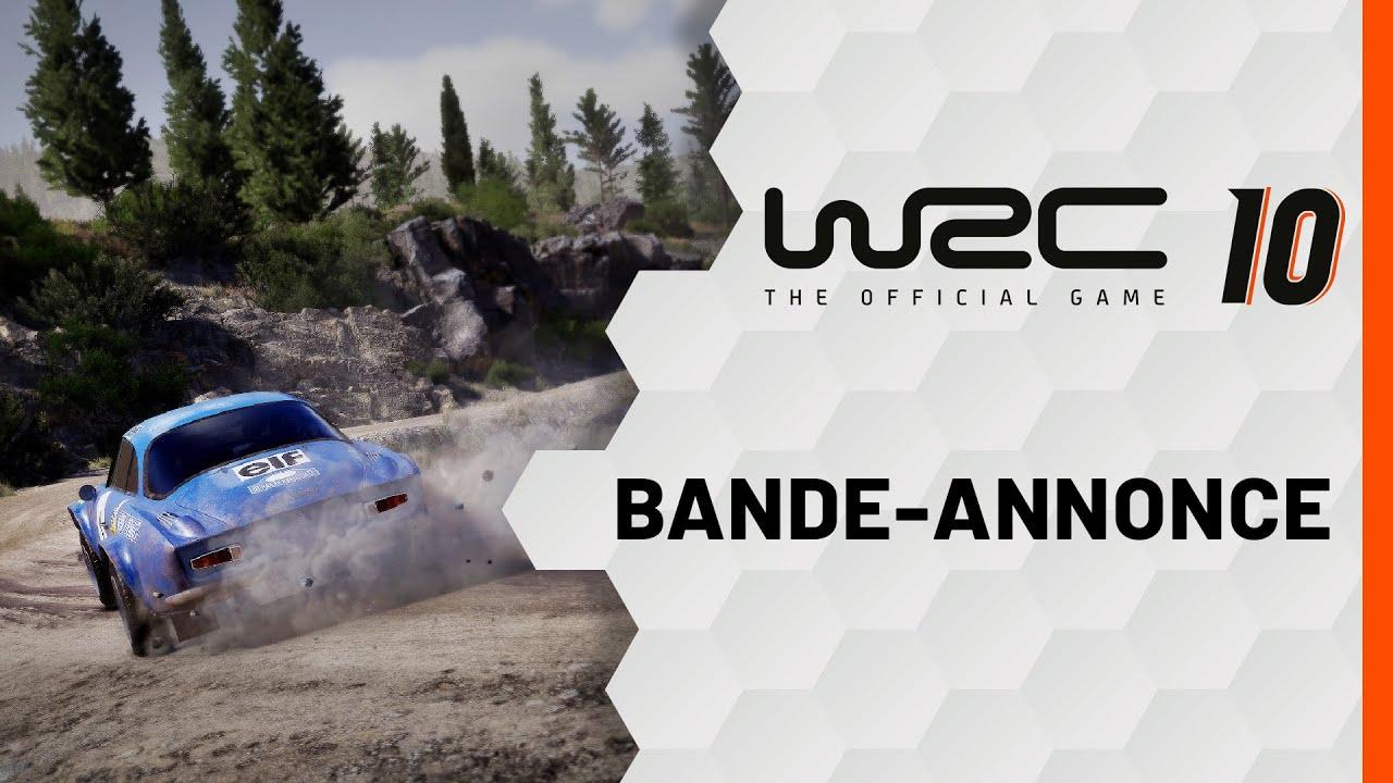 WRC 10   Bande-annonce - Nacon France