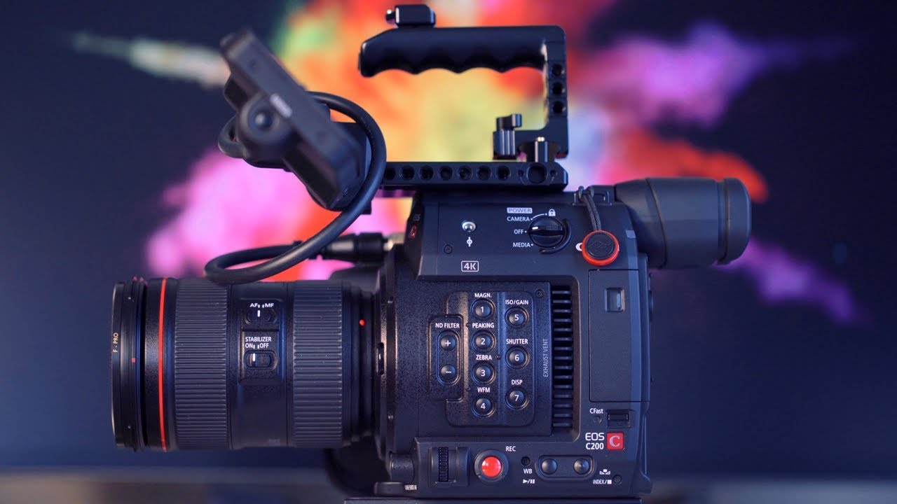 Canon C200 Cinema Camera Review - Is It The Perfect Camera?
