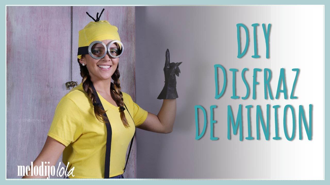 diy disfraz de minion disfraces fciles para halloween diy disfraces youtube