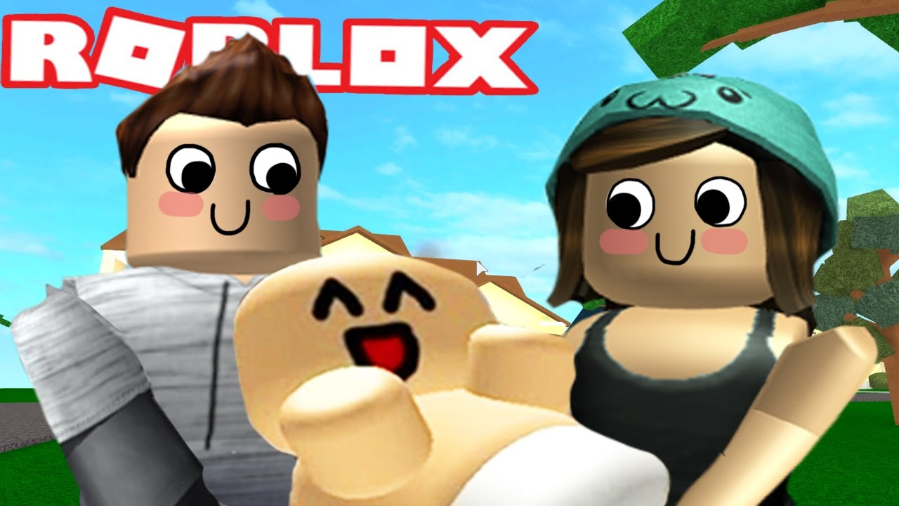 ADOPTING A BABY IN ROBLOX - YouTube