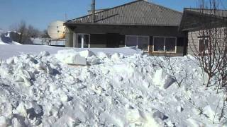 зима в с. Родино